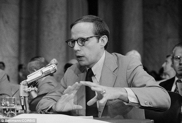 John Dean Testifying Before the Senate Watergate Committee in June 1973