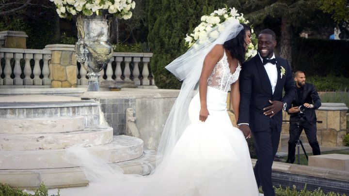 Eniko Parrish and Kevin Hart married in August of 2016.