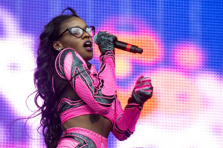 "Azealia Banks' song ""212"" references her sexual attraction to women."