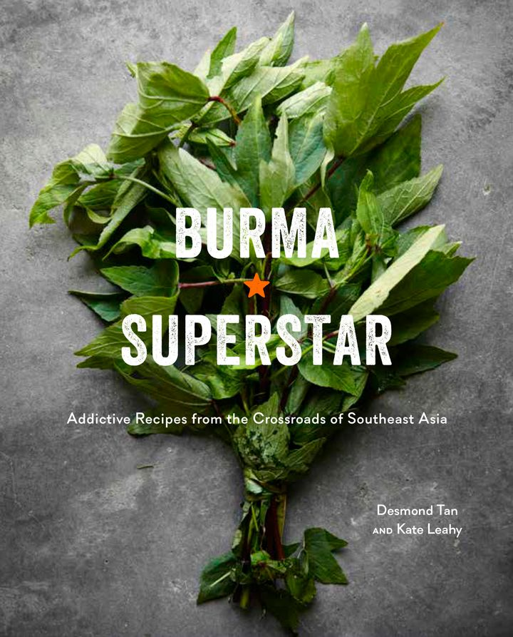 The cover of the cookbook from Burma Superstar