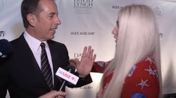 Jerry Seinfeld Visits Kesha Mural In