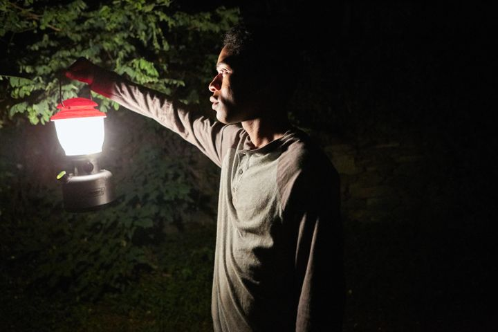 "Kelvin Harrison Jr. stars in ""It Comes at Night."""
