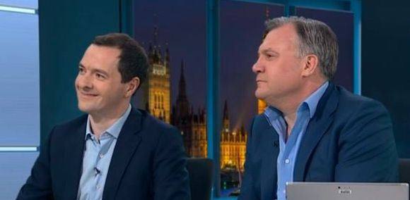 George Osborne gave his take on the shock exit