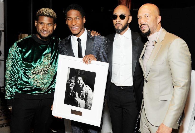 Usher, Jon Batiste, Swizz Beatz, Common
