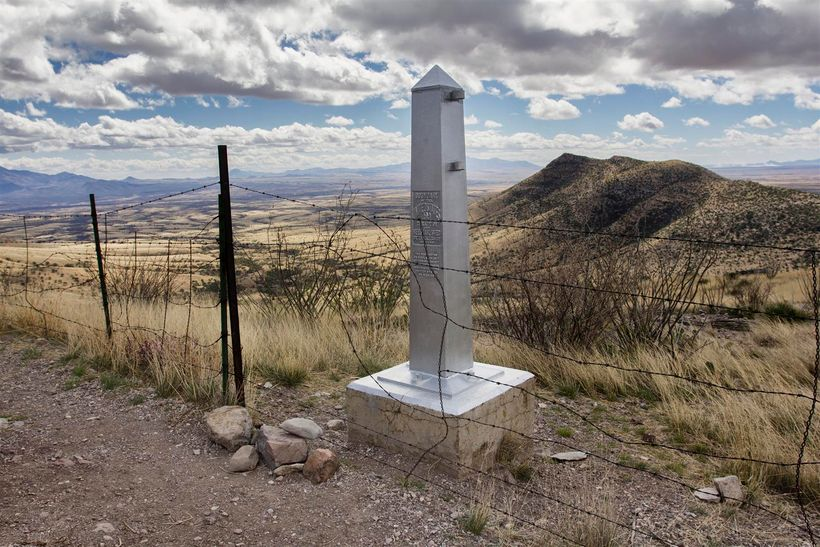 The official starting point of the 800 mile  Arizona National Scenic Trail