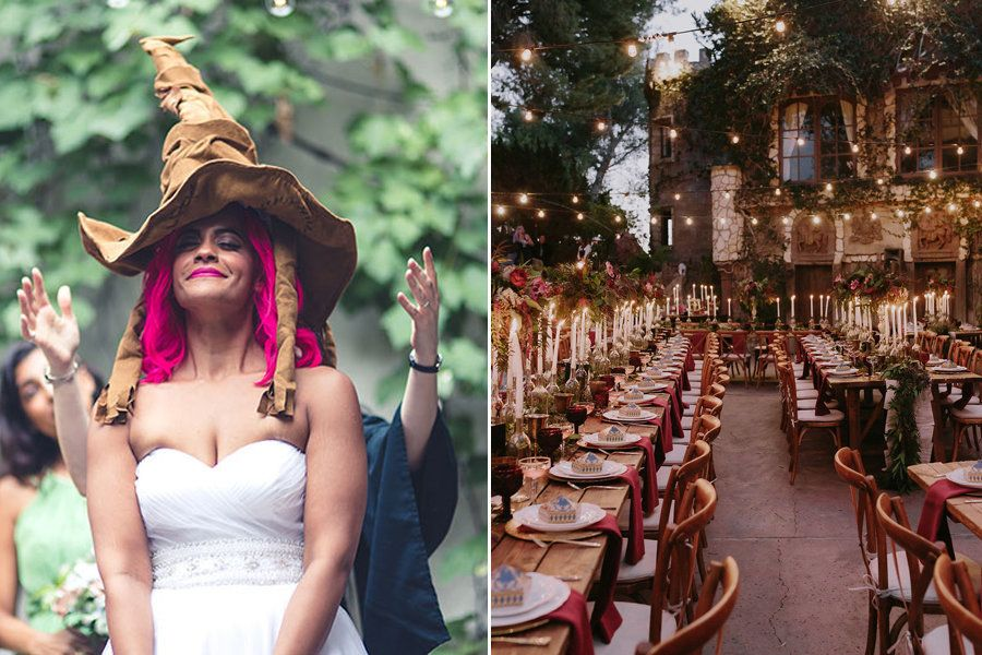 23 Harry Potter Wedding Ideas That Will Excite Your Inner