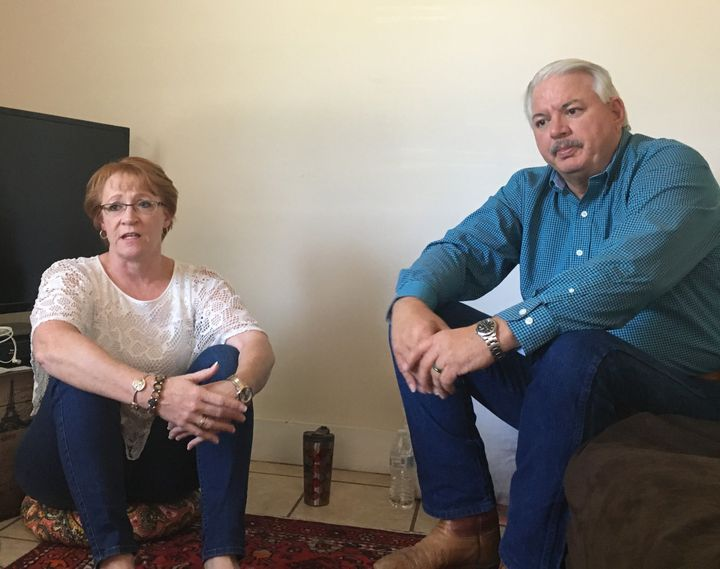 """Billie Winner-Davis and her husband, Gary Davis, are staying in Reality Winner's Augusta, Georgia, home as they stand by her. They say their daughter """"would never hurt anyone."""""""