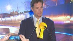 Nick Clegg Loses His Sheffield Hallam