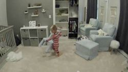 Watch The Hilarious Moment Toddler Helps Younger Brother Escape From Cot During A