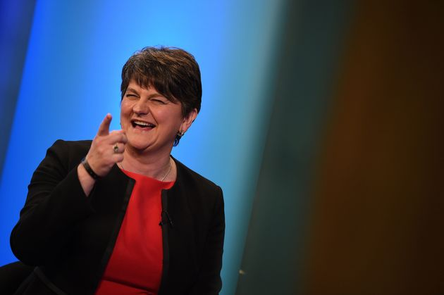 DUP leader Arlene Foster has spoken out amid claims the party will form a coalition to help Theresa May...