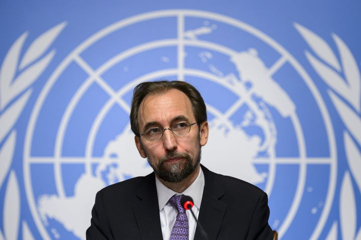 Zeid Ra'ad al-Hussein,High Commissioner of the United Nations for Human Rights, wants an investigation into crimes comm