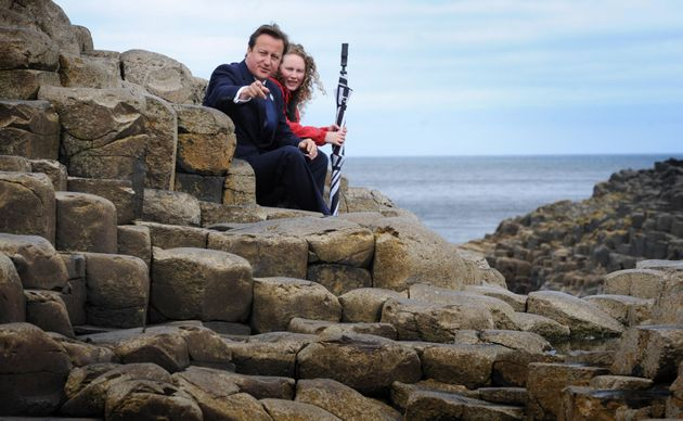 David Cameron is less than 10,000 years old. The Giant's Causeway is
