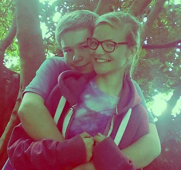 Kim Edwards with Lucas