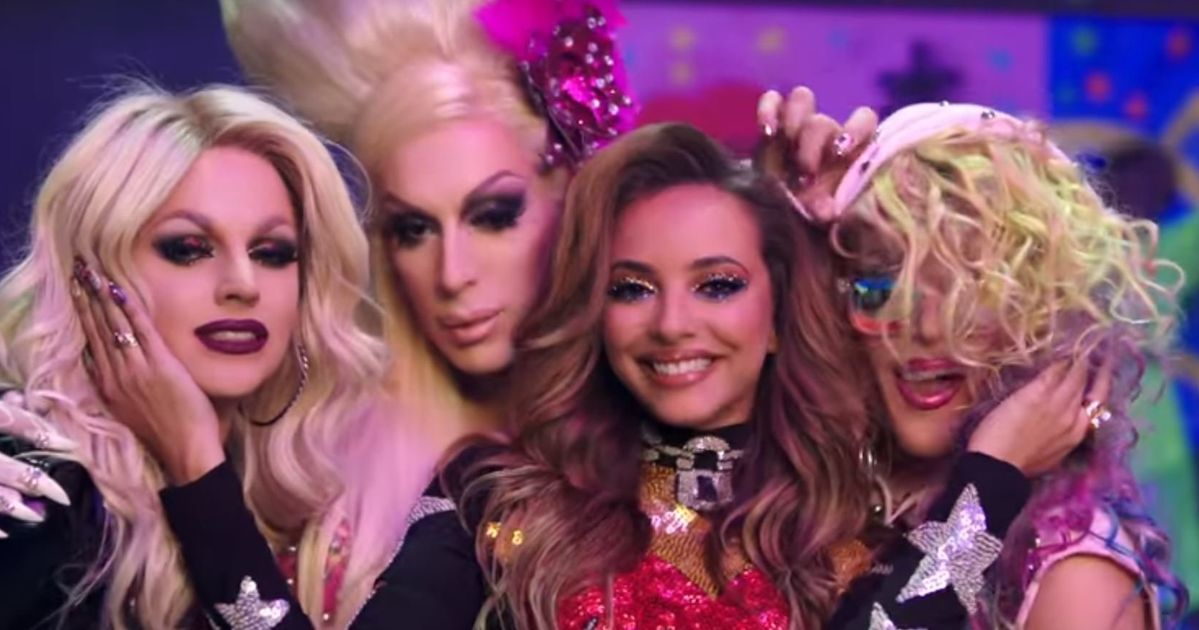 2a8bf51b2582 Little Mix s  Power  Video Is Just As Iconic As We Were Hoping For. Jade +  drag ...