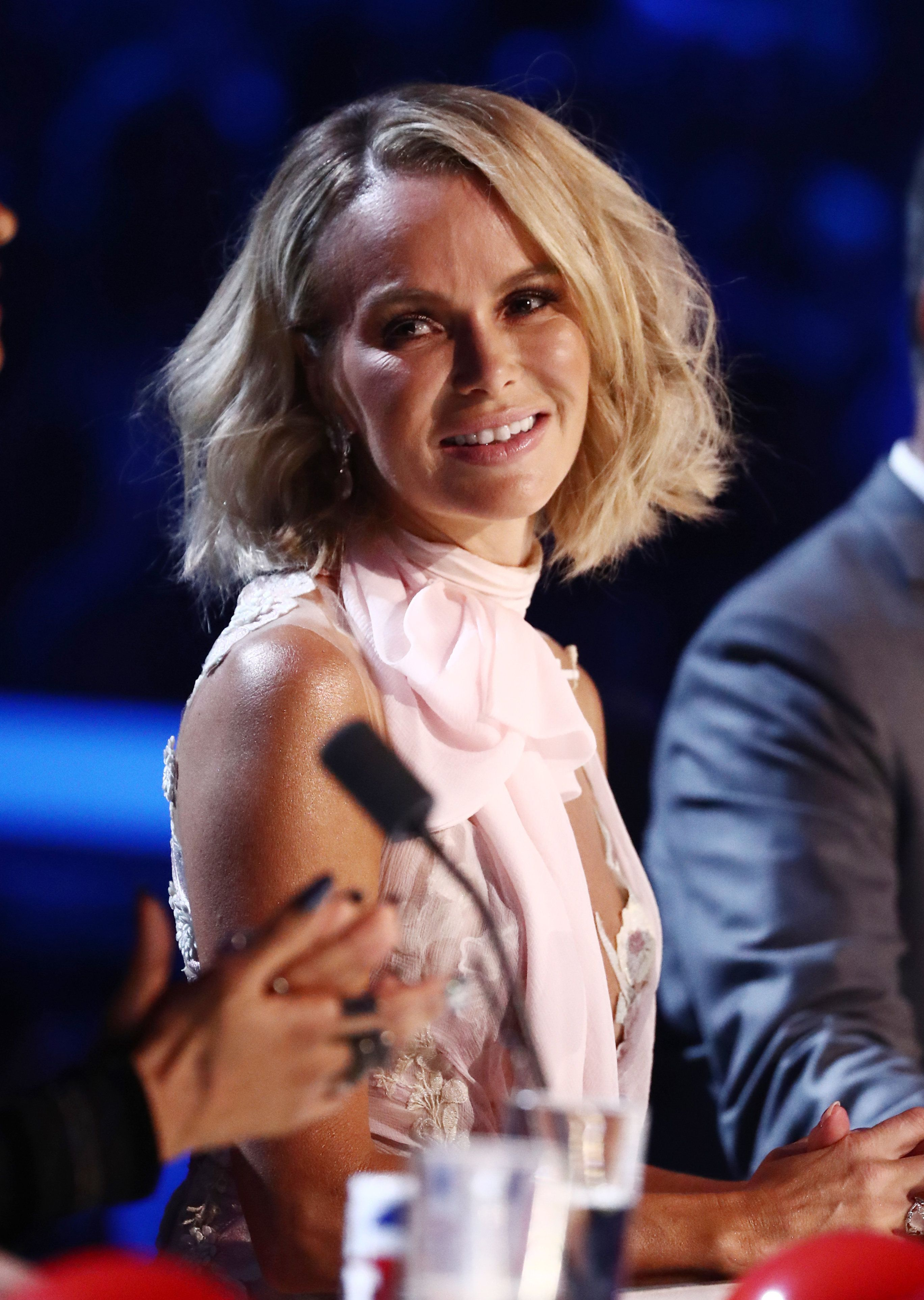 BGT's Amanda Holden Reveals Emotional Reaction After Missing People's Choir Family Reunion