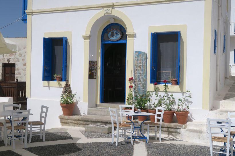 The village of Nikia on the island of Nisyros