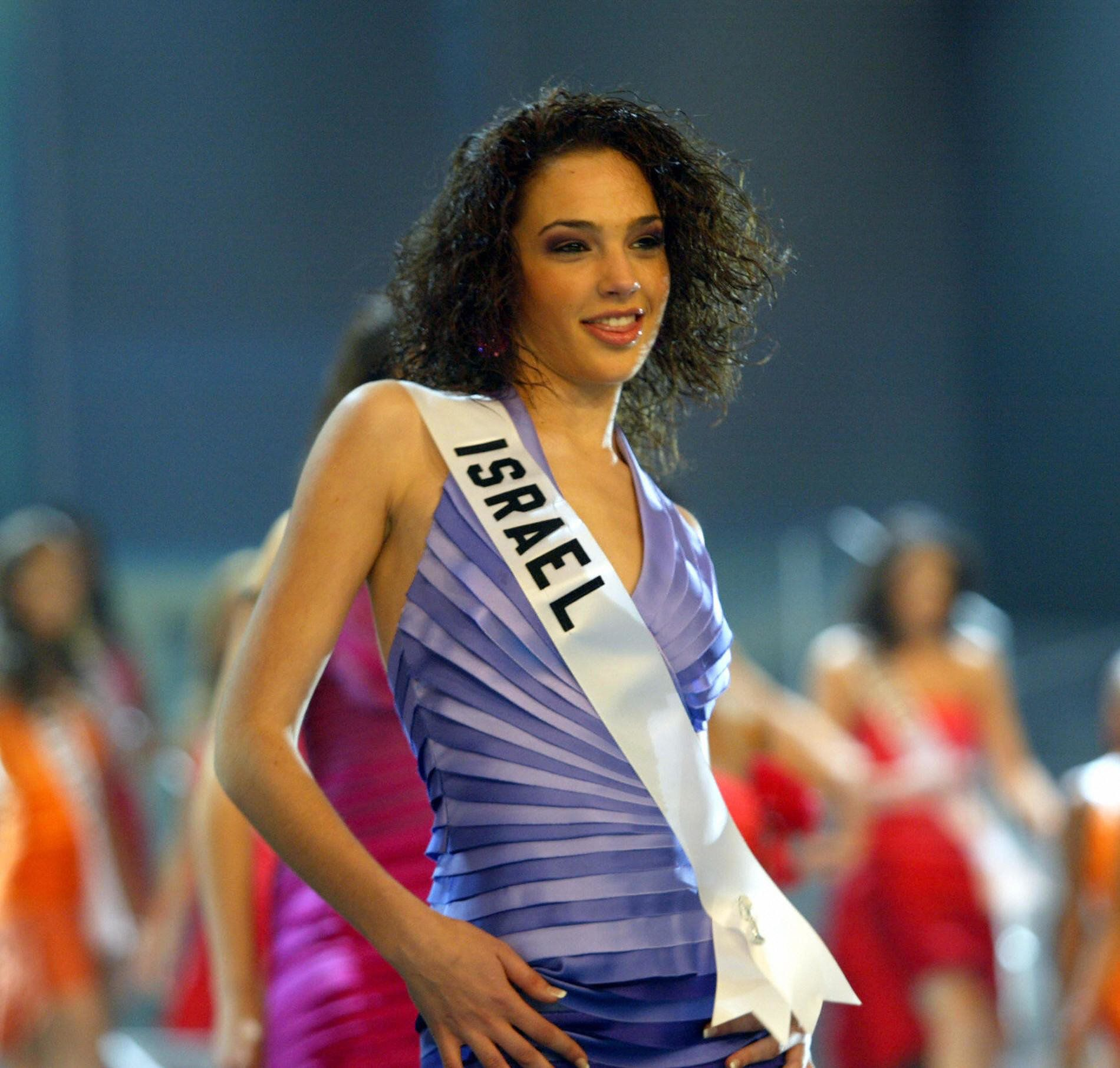 At the Miss Universe pageant.