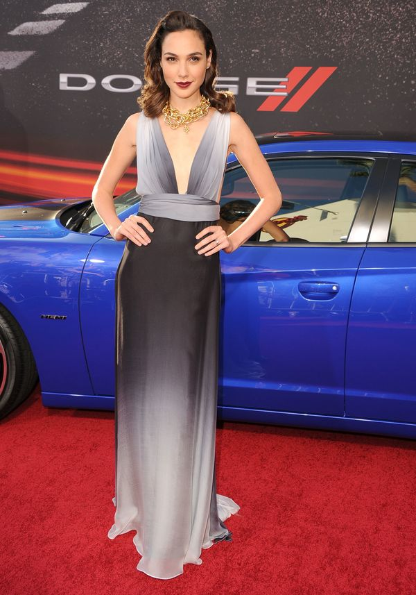 """At the """"Fast & The Furious 6'"""" premiere."""