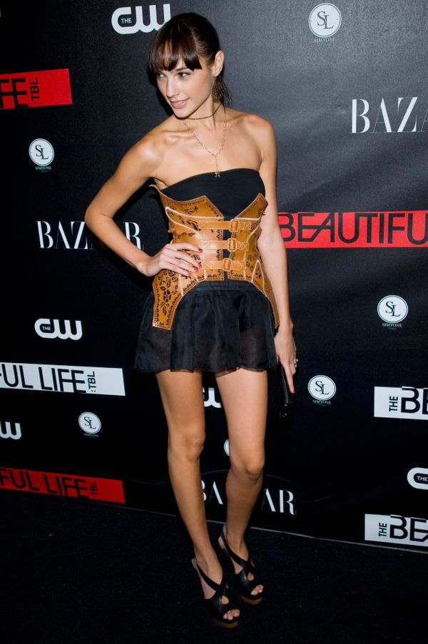 """At the premiere of""""The Beautiful Life: TBL."""""""