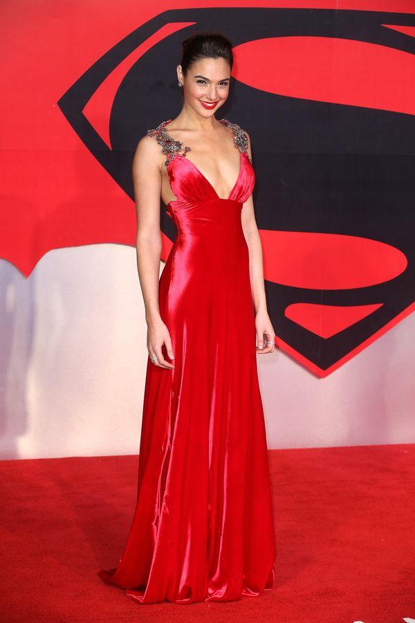 "At theEuropean Premiere of ""Batman v Superman: Dawn Of Justice."""