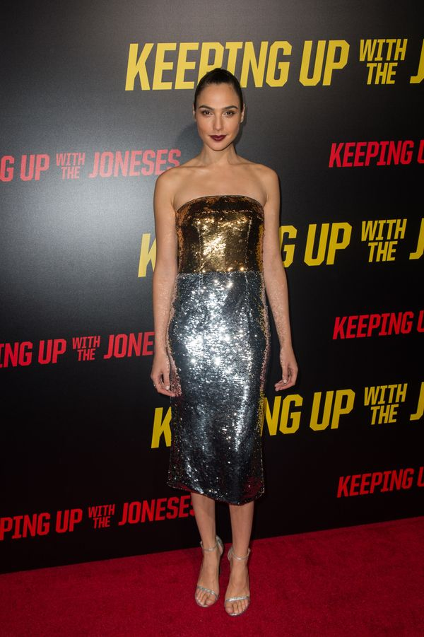 """Atthe premiere of """"Keeping up with the Joneses."""""""