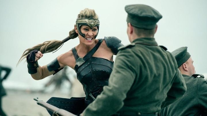 Wright as Antiope.