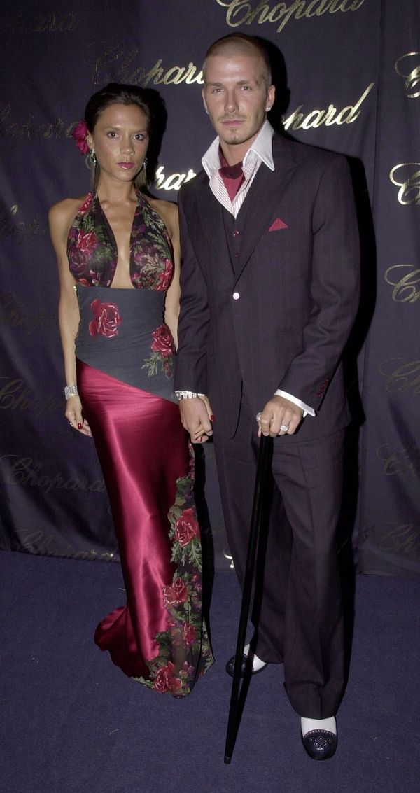 They looked sharp at a ball for Elton John's Aids Foundation, also in 2001.