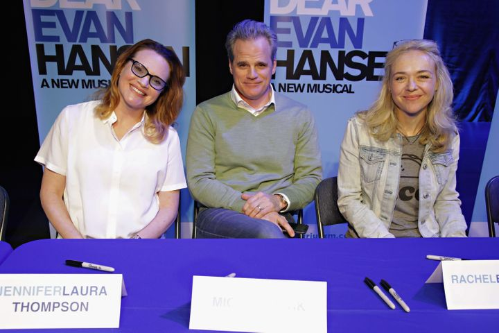 "The three parents of the play say ""Dear Evan Hansen"" has changed their perspective on many things."