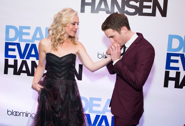 """Jones said """"Dear Evan Hansen"""" made her think about the role ofsocialmediain our lives today."""