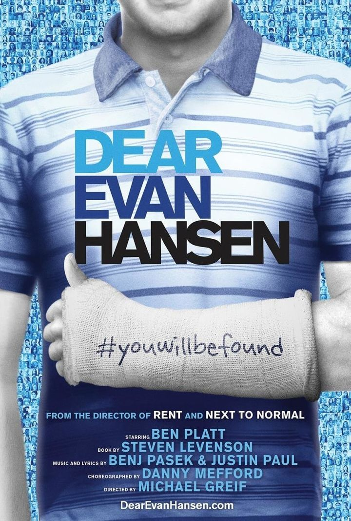 """Dear Evan Hansen"" received nine Tony nominations."