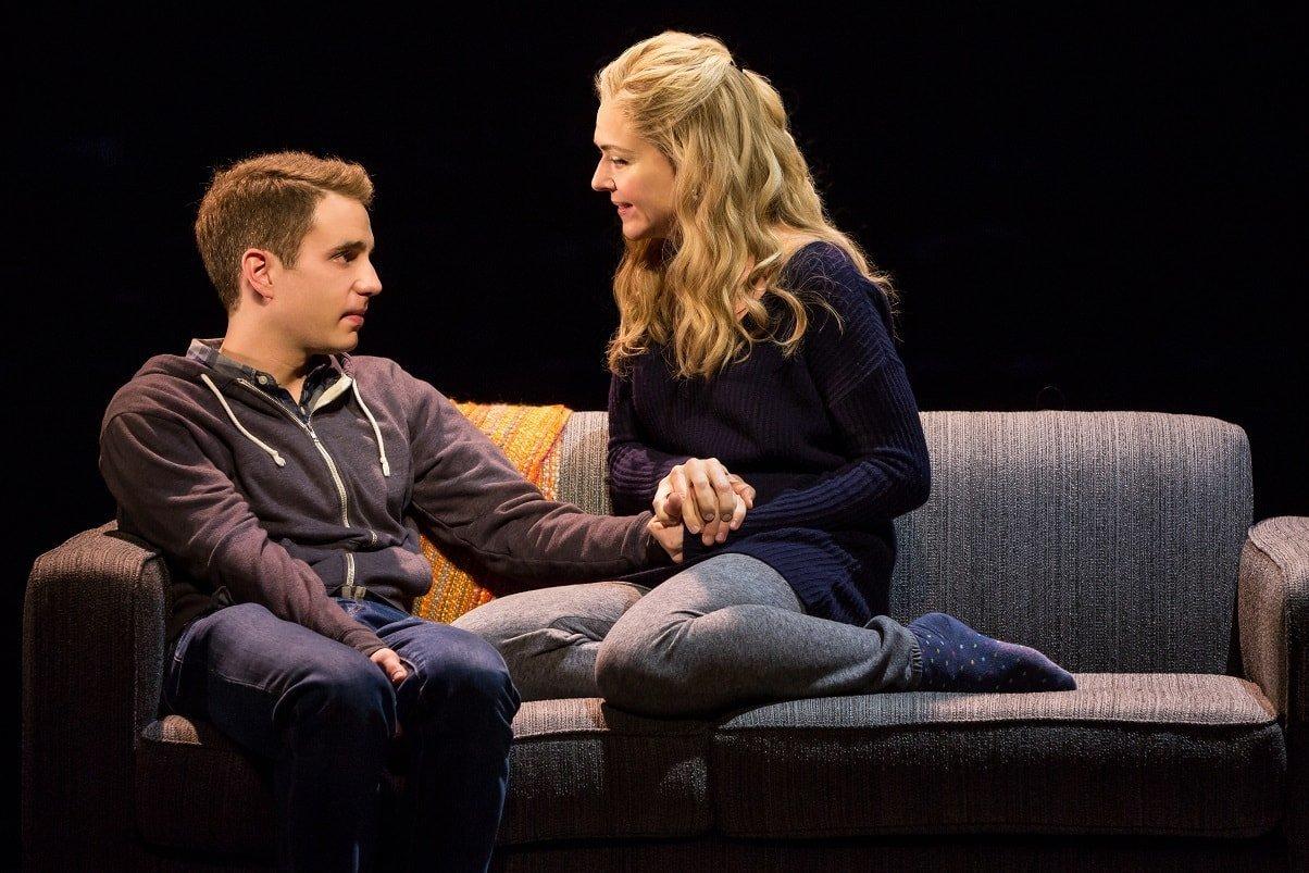 Rachel Bay Jones plays a single mother with a teenage son.