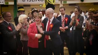 Jeremy Corbyn tried to high five Emily Thornberry but it didnt work out so well