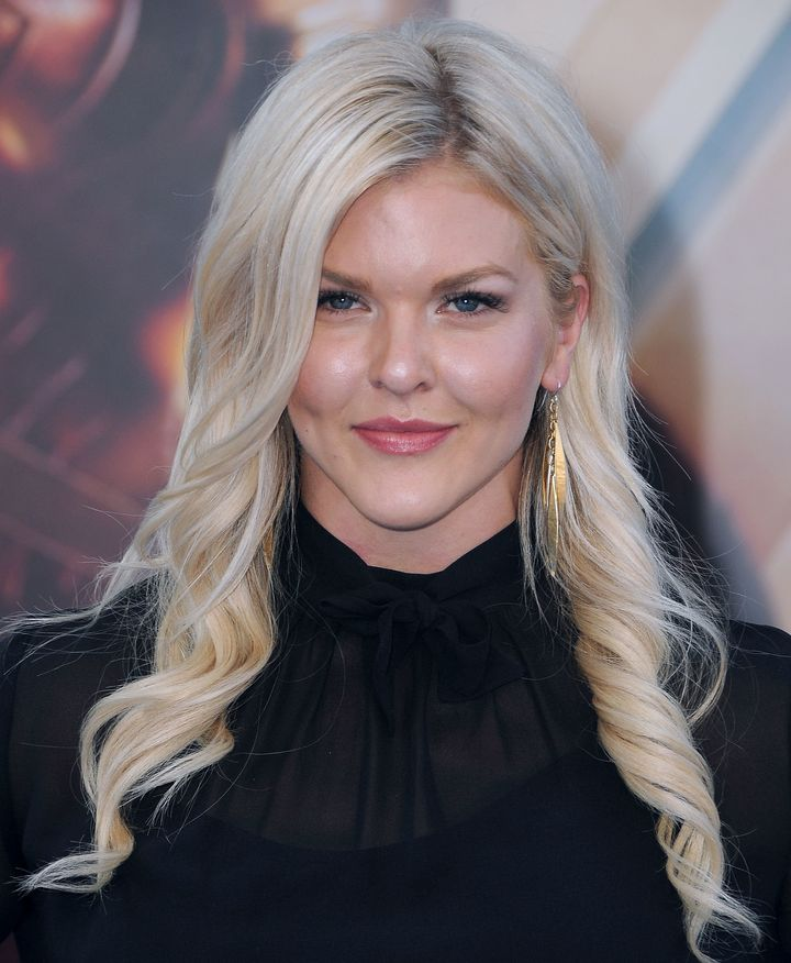 """Brooke Ence arrives at the """"Wonder Woman"""" world premiere in Hollywood."""