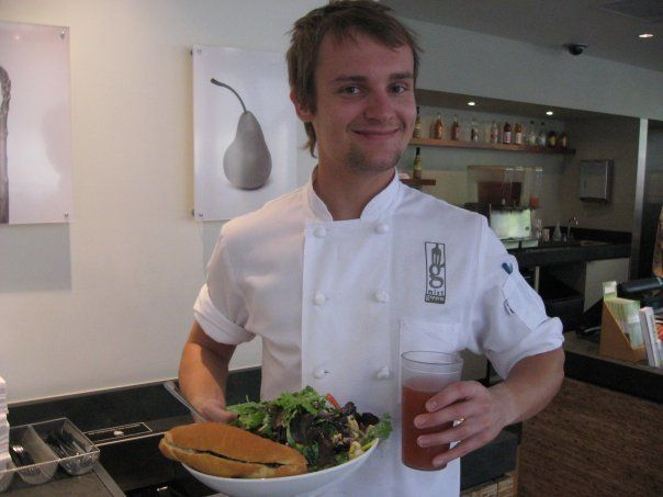 After leaving Belarus, Kirill at a restaurant in Kill Devil Hills, North Carolina as his first job in America. He recently le