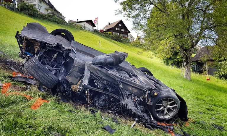 Richard Hammond Airlifted To Hospital After Crashing Supercar During 'Grand Tour'