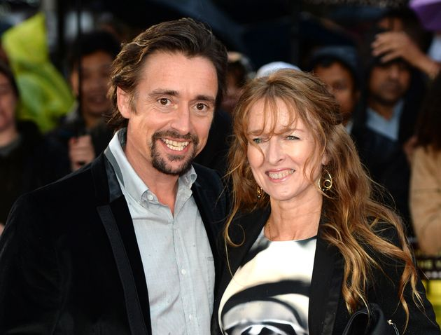 Richard, pictured with his wife Amanda, had only recently said his days of high-speed stunts were behind