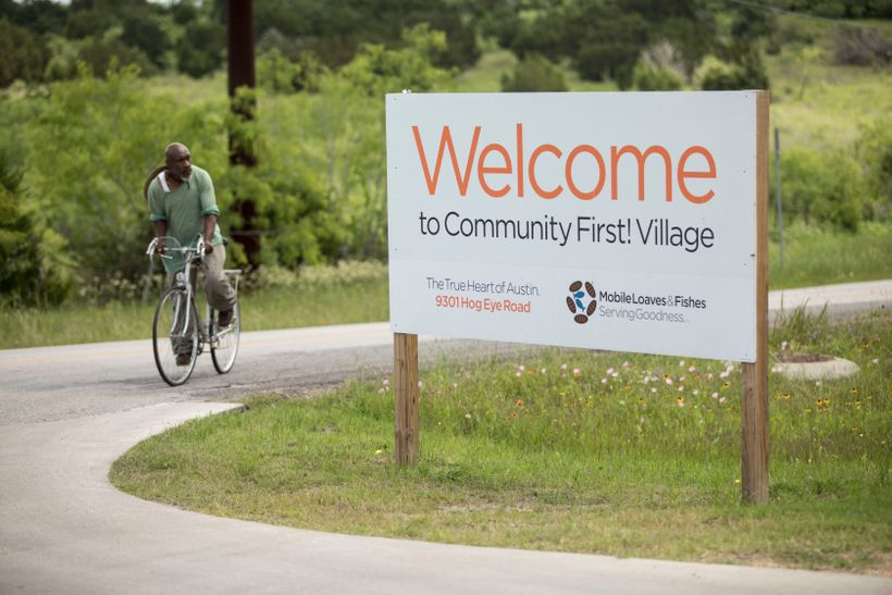 Community First Village, highlighted in Alan Graham's book, Welcome Homeless