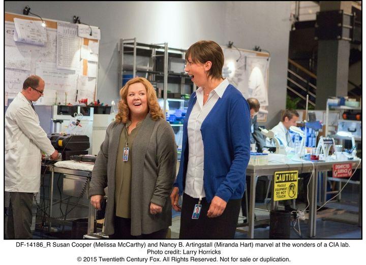 Susan Cooper's colleague Nancy believes in her from the get-go.