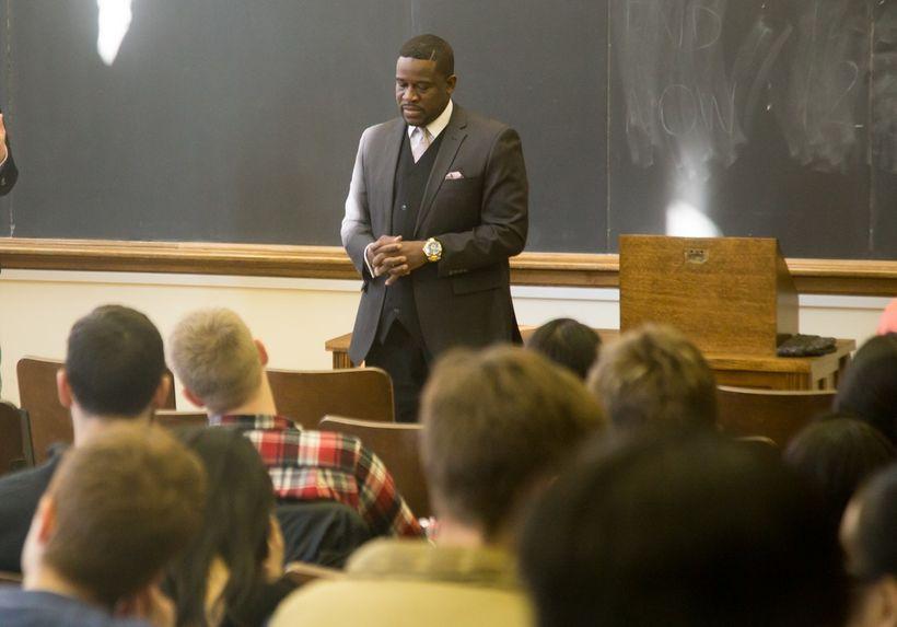 "Shafiq R. F. Abdussabur guest lecturer Yale University Divinity School ""Black, American, Muslim, and Cop"""