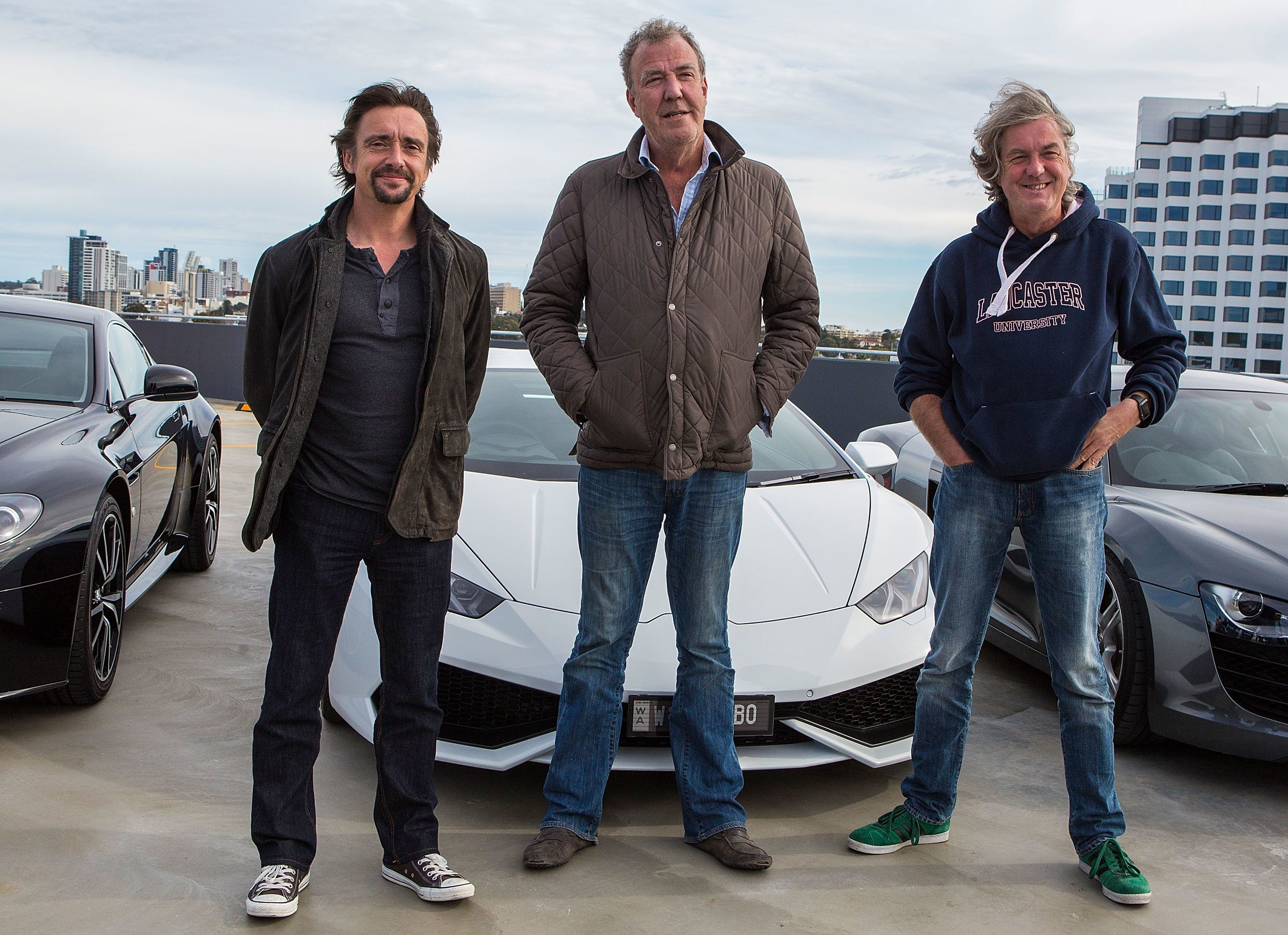 James May And Jeremy Clarkson 'Thought Richard Hammond Was Dead' When They Saw Crash