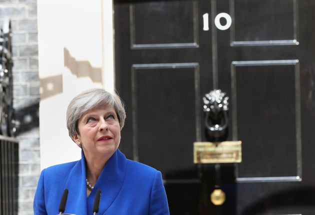 May is clinging to power despite losing her Commons