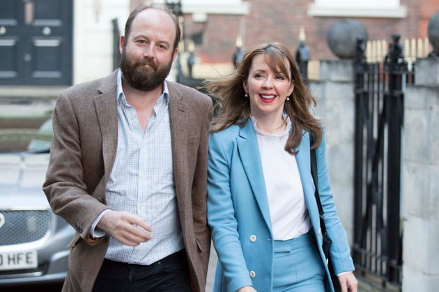 May's former co-chiefs of staff, Nick Timothy and Fiona