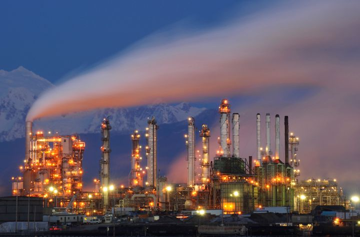 The Tesoro Anacortes Refinery in a 2015 photo.