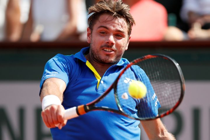 French Open, Roland Garros, Paris, France - June 11, 2017: Switzerland's Stan Wawrinka in action during the final against Spa