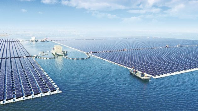 China Turns On The World's Largest Floating Solar