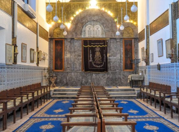 A traditional Moroccan Synagogue