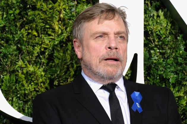 Mark Hamill attends the 2017 Tony Awards in New