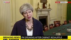 Theresa May Asked How She's Feeling, Gives Truly Bizarre