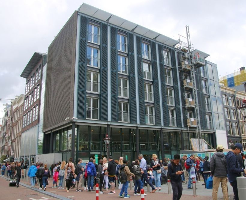 The Anne Frank House will undergo a major refurbishment between 2017 and 2019 but will remain open to the public.