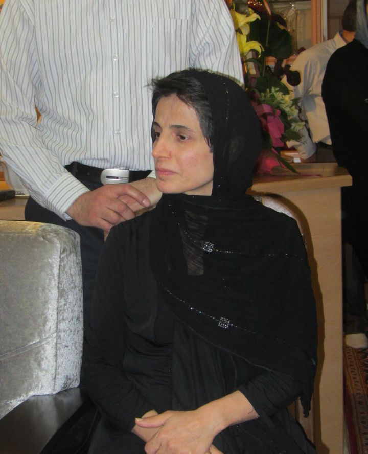 Iranian human rights defender Nasrin Sotoudeh.